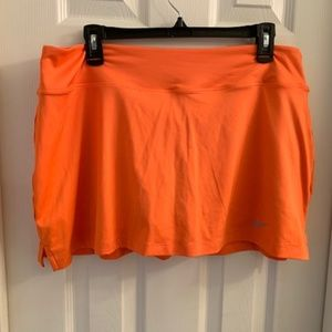 Orange Nike Skirt